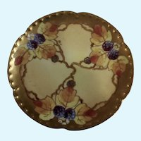 Vintage Plate Haviland France White's Art Co. Chicago Hand Painted