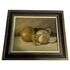 Shepherd, Still life Oranges Oil Painting