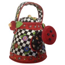 Mary Engelbreit, Sewing Pin Cushion Watering Can Flower Pot Discontinued