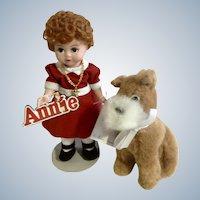 "Madame Alexander Little Orphan Annie And Sandy 8"" Doll 13740 1999"