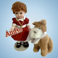 "Madame Alexander Little Orphan Annie And Sandy 8"" Doll 13740 1999"