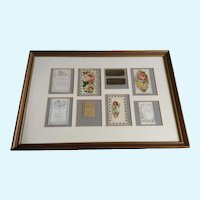1875-1910 Die-Cut Embossed Ephemera Paper Scrap Picture