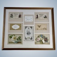 1875-1910 Die-Cut Embossed Merit Rewards Ephemera Paper Scrap Book Picture