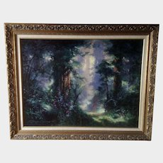 James Coleman Tropical Rain Forest Path Landscape Signed Limited Edition Giclee Print