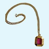 Kops Merit Award Kids Sports Award Four Star Gold-Tone Necklace Costume Jewelry