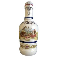 Beer Mug Bottle Glass Decanter Celebrating 800 years of Beer Making at the Port of Hamburg Germany