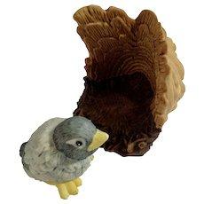 Bluebird Franklin Mint Woodland Surprises Series Porcelain 1984 Jacqueline B Smith Wild Animal 2 Piece Set