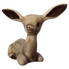 Vintage Big Ear Deer Souvenir From Utah Chase Ceramic Figurine Animal