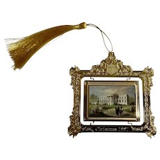 1997 Christmas The White House Historical Association Ornament Upgraded Tassel