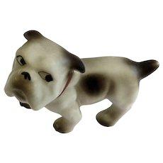Bull Dog Figurine Maruyama Toki Yamashiro Ryuhei, Seto, Aichi province Japan