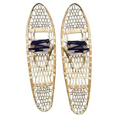 Vintage Snowshoes Can-Am Trading Co. Canada 11 X 40 Chalet Decor