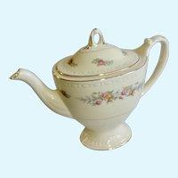Homer Laughlin Cashmere Teapot Very Rare Georgian Eggshell Coffee Pot M51N5