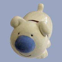 Rare Ziggy's Dog Named Fuzz Cute Smiling Porcelain Figurine