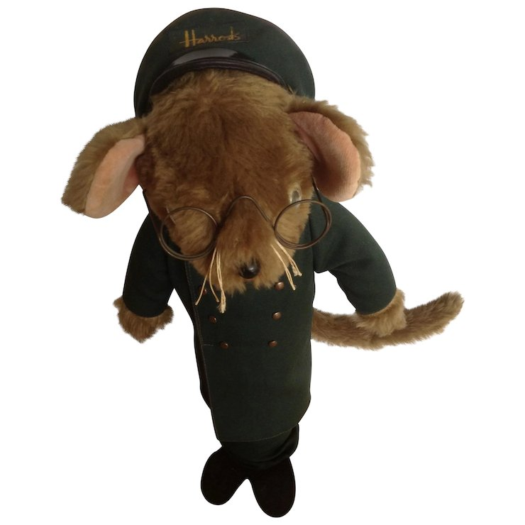 Vintage Harrod S Department Store Doorman Mouse Door Stop Jane S