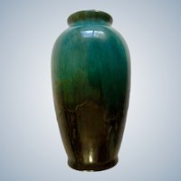 Blue Mountain Pottery Flower Vase North Bay Canada Discontinued