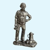 Camp Coffee Michael Anthony Ricker Pewter Figurine 1976