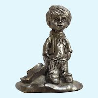 Sherif Boy Michael Anthony Ricker Pewter Figurine 1994