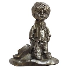 Sherif Boy Michael Anthony Ricker Pewter Figurine 1994