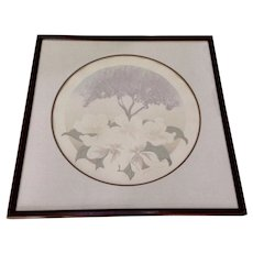 Denise Harris, Spring Limited Edition Hand Embossed Serigraph Signed by Artist