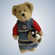 Boyds Bears 'The Head Bean Collection' Katie,Free Kittens Kitty CatAdorable Plush Stuffed Teddy Bear