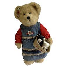 Boyd's Bears 'The Head Bean Collection' Katie,Free Kittens Kitty CatAdorable Plush Stuffed Teddy Bear