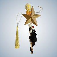 1996 Warner Bros. Tweety & Sylvester Christmas Tree Looney Tunes Star Ornament Retired