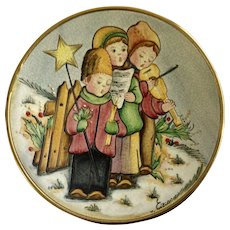 V Tiziano Christmas 1979 The Carolers Limited Edition Collectors Plate Italy