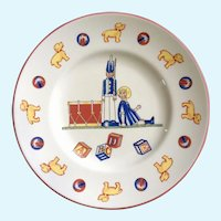 Tiffany Toys by Tiffany Co. Children's Porcelain Plate