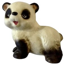 Vintage Lefton Panda Bear Animal Figurine Japan