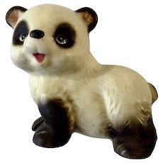 Rare Vintage Lefton Panda Bear Animal Figurine Japan