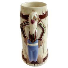 Vintage Twin Winton Hillbilly Hiding Moonshine Barrel, Ceramic  Stein Beer Mug