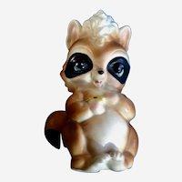 Josef Originals Loving Raccoon Ceramic Figurine