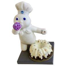 Danbury Mint Pillsbury Doughboy Birthday January Calendar Replacement Figure 1997 Retired