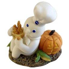 Halloween Pumpkin Pillsbury Doughboy Danbury Mint October Calendar Figure
