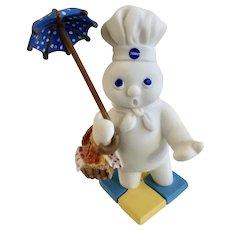 Danbury Mint Pillsbury Doughboy April Showers Calendar Replacement Figure 1997 Retired