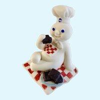 Pillsbury Doughboy May Calendar Figure Danbury Mint