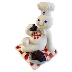 Danbury Mint Pillsbury Doughboy May Calendar Replacement Figure 1997 Retired