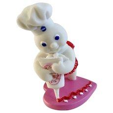 Danbury Mint Pillsbury Doughboy February Calendar Valentines's Day Replacement Figure 1997 Retired