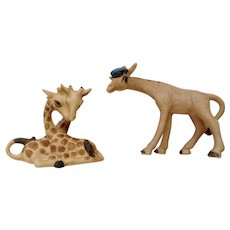 Giraffe Sailor and Loving Couple George Good Josef Originals Freeman Bone China Miniatures