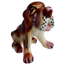 Vintage Crying Hound Dog Salt or Pepper Shaker Single Replacement