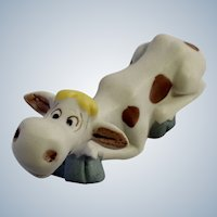 George Good Happy Cow Figurine Taiwan