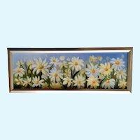 Debbie Jaggers Delightful Daisies Floral Oil Painting