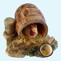Lowell Davis Chicken Woman's Work RFD America Figurine Schmid