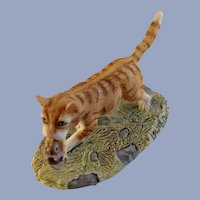 Lowell Davis RFD America Finders Keepers Tabby Cat Figurine