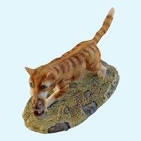 Lowell Davis RFD America Finders Keepers Tabby Cat Figurine