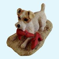 Lowell Davis  Seein' Red Dog RFD America Figurine Schmid