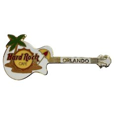 Hard Rock Cafe Orlando, Florida Guitar Collectable Pin