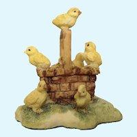 Lowell Davis Peep Show Baby Chicks RFD America Figurine Schmid
