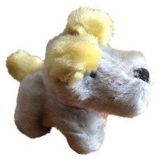 Adorable Mid-Century Stuffed Plush Puppy Dog Toy Animal