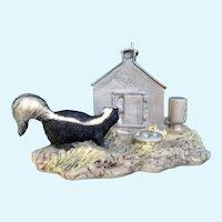 Lowell Davis  Skunk RFD America Figurine Schmid Country Kitty